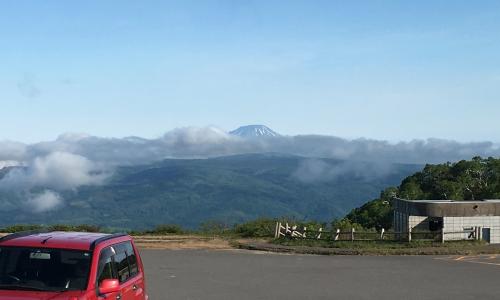 オロフレ峠展望台から見た羊蹄山
