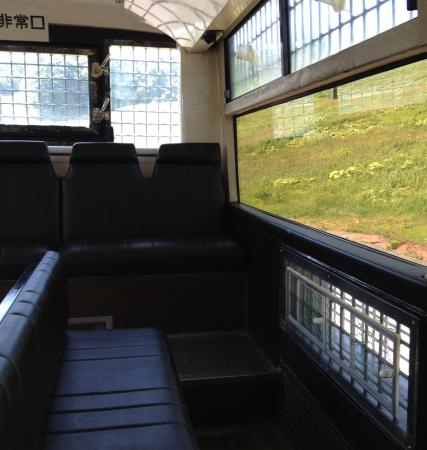 熊ツアーのバス