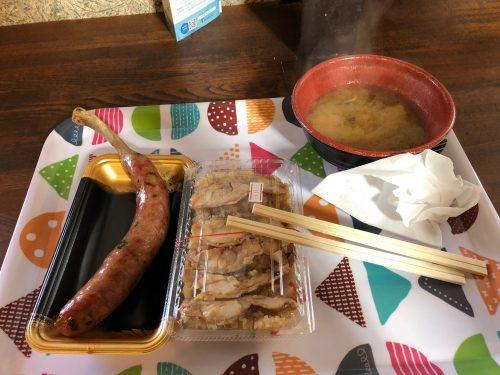 きのこ王国でお昼ご飯