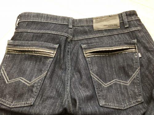EDWIN403WILDFIREのお尻のポケット