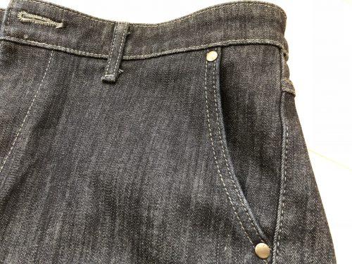EDWIN403WILDFIREのサイドポケット