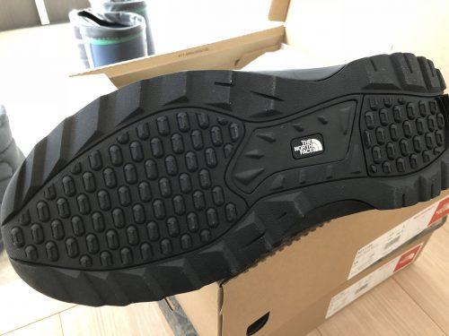 ヌプシブーティーウールIIIの靴底