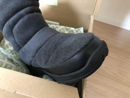 靴の底の接合部分
