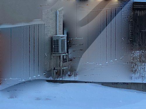 エアコン室外機の架台