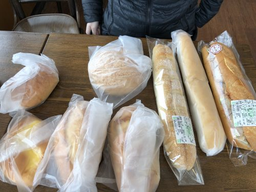 ボストンベイクで買ったパン
