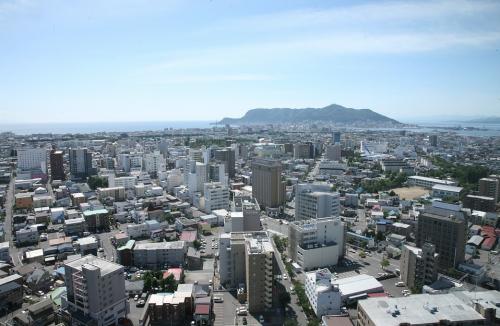 函館の街並み