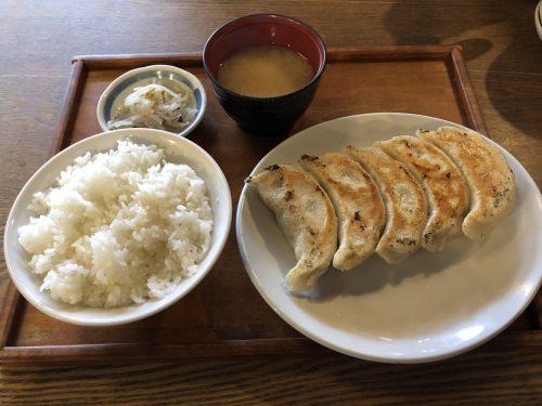 あおぞら銭函3丁めのジャンボ餃子定食