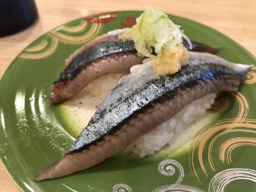 トリトンの秋刀魚