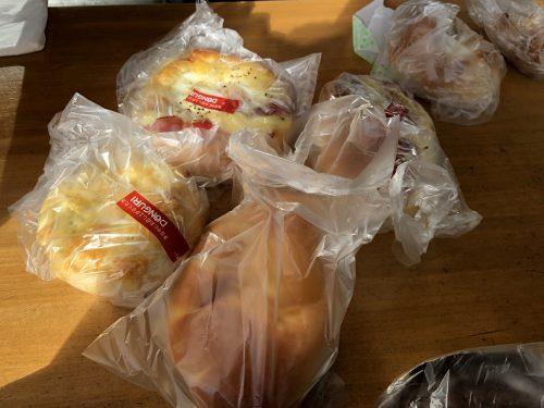ドングリで買ったパン