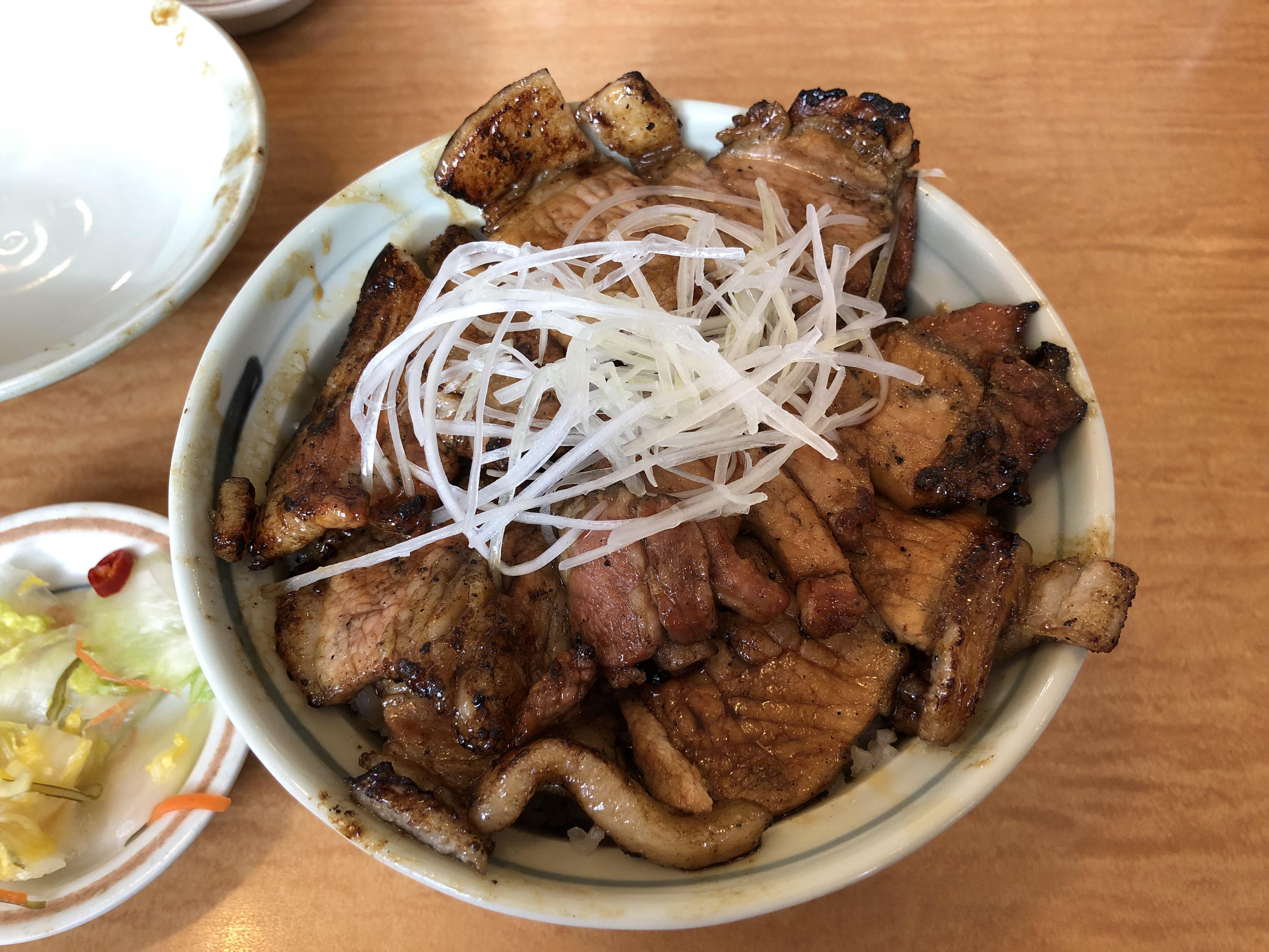 いっぴんの特盛り豚丼