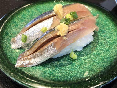 なごやか亭の秋刀魚