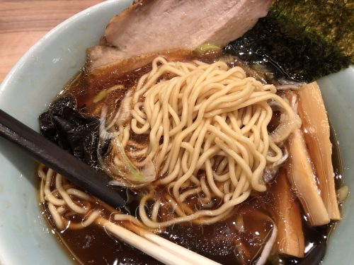 鷹の爪のラーメンの麺