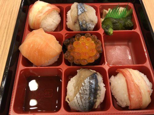 空弁の寿司