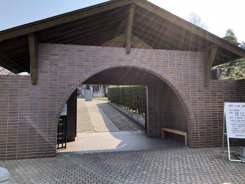 トラピスチヌ修道院の入り口