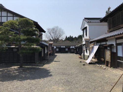 松前藩屋敷内部