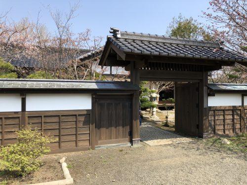松前藩屋敷の武家屋敷