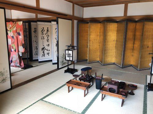 松前藩屋敷の武家屋敷の内部