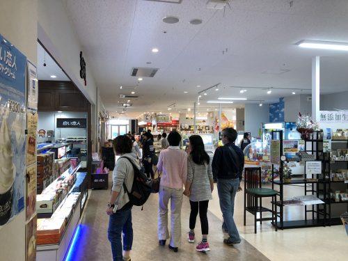 新函館北斗駅駅ビル別館内部