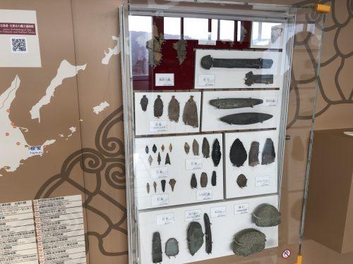 発掘された縄文時代の道具
