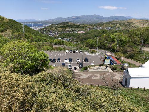 地球岬の駐車場