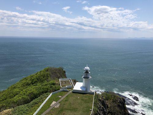 地球岬の展望台からの景色