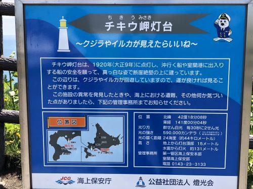 地球岬の灯台について