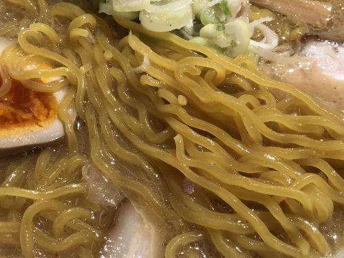 ラーメン空の麺