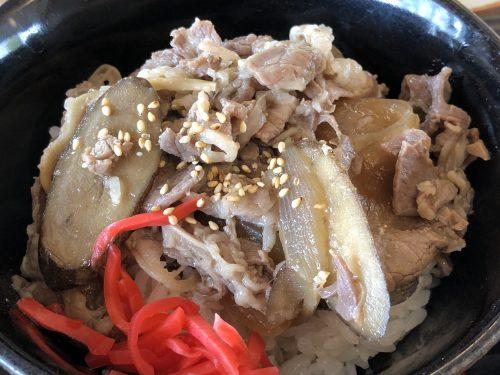 道の駅ピアしほろ21の牛丼