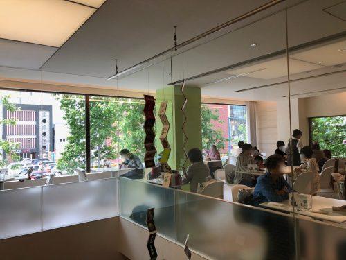 六花亭帯広本店喫茶室