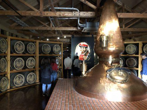 ウイスキー博物館内部