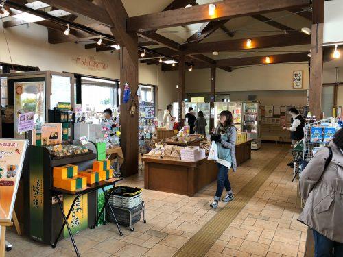 恵庭の道の駅の売店