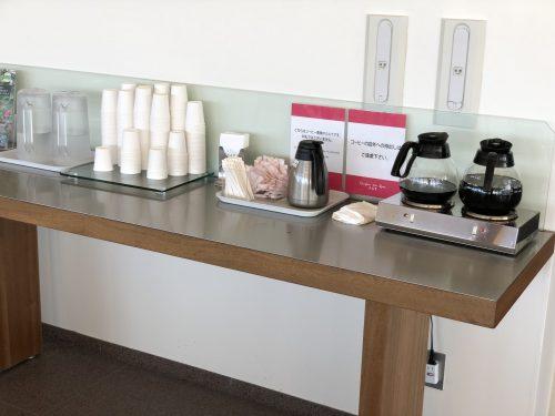 カンパーナ六花亭の喫茶室のコーヒー