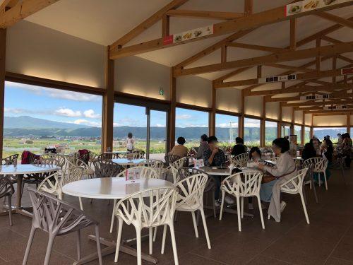 カンパーナ六花亭の喫茶室