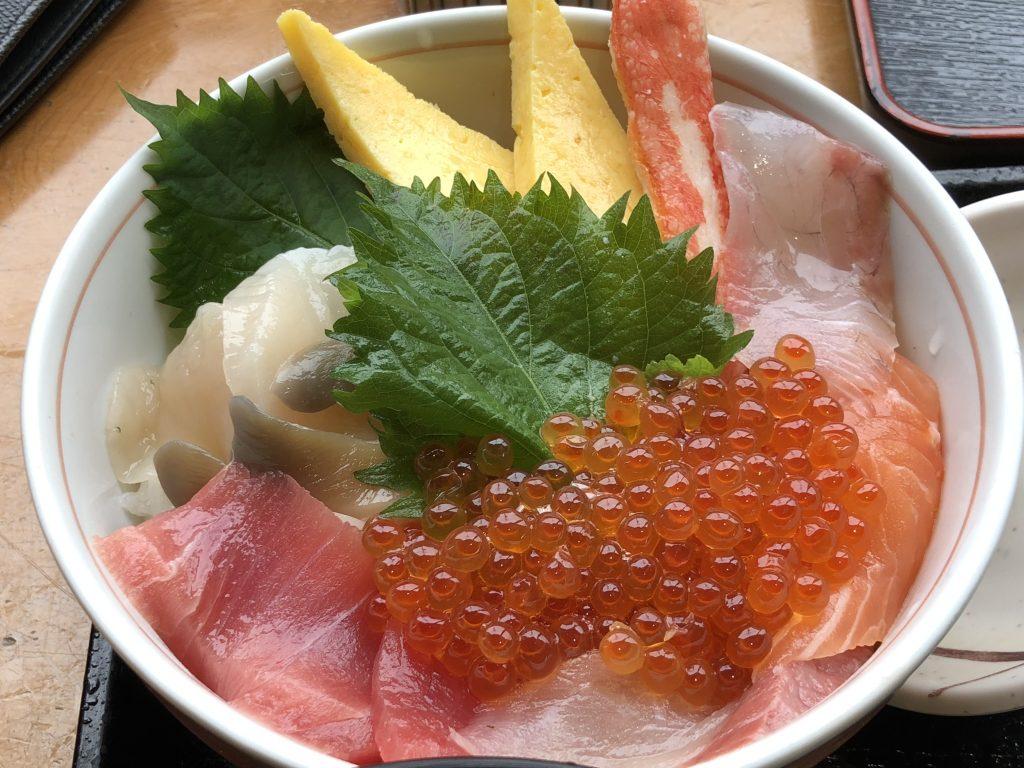 柿崎商店の海鮮丼