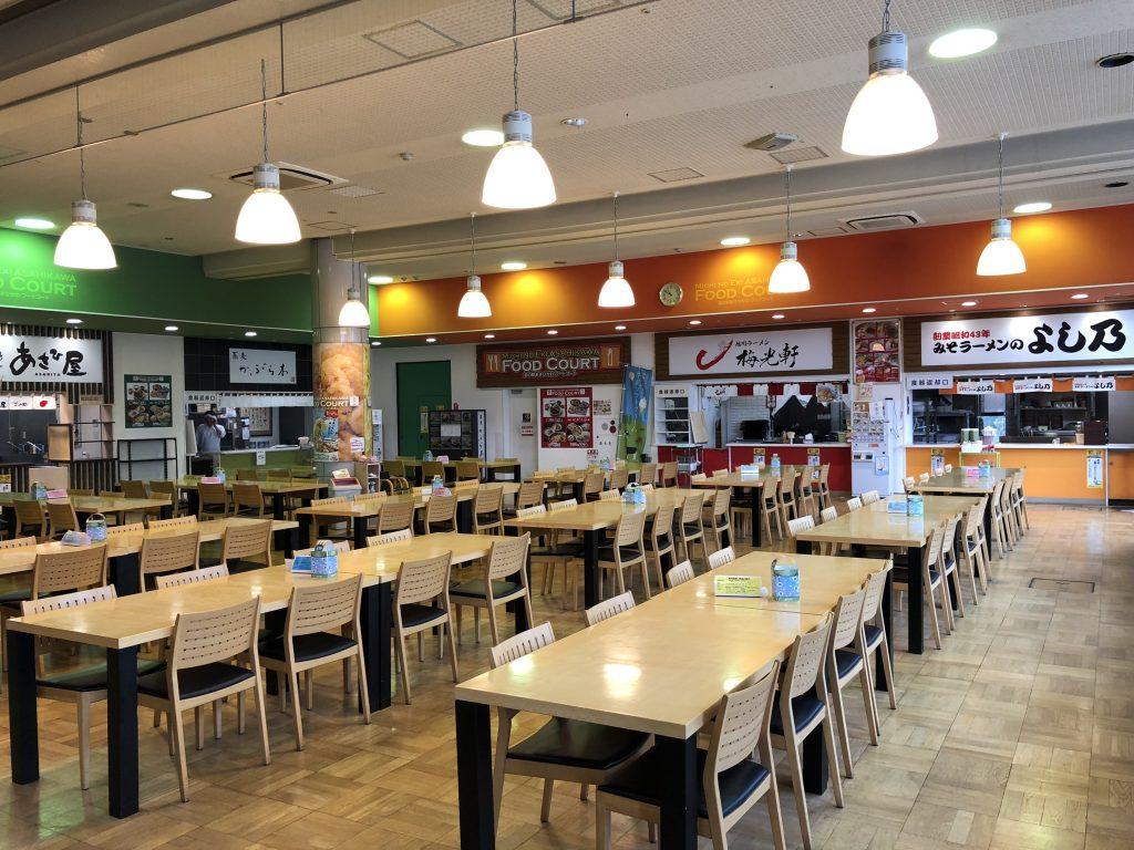 旭川の道の駅の飲食店