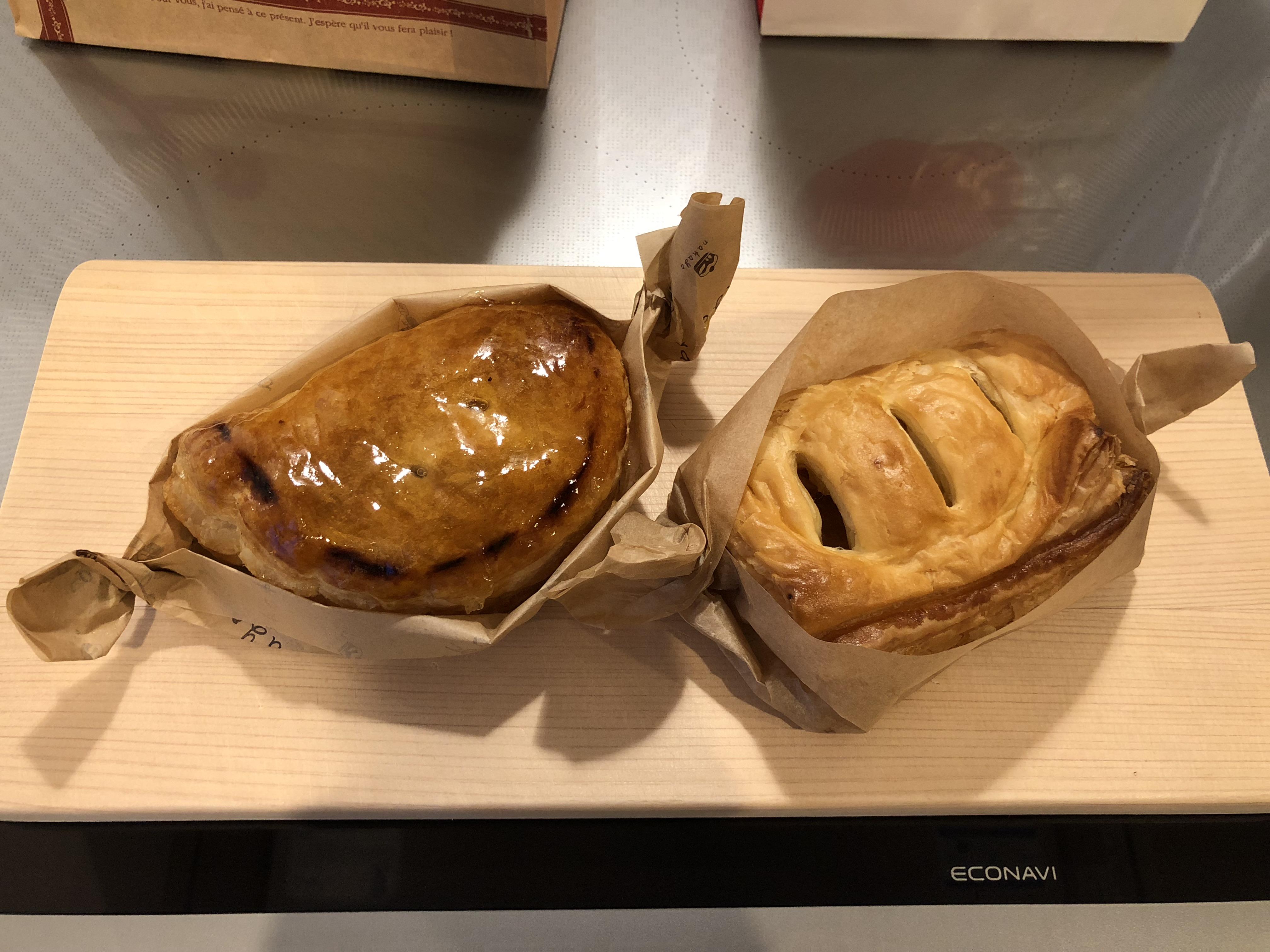 ナカヤとホンダのアップルパイ