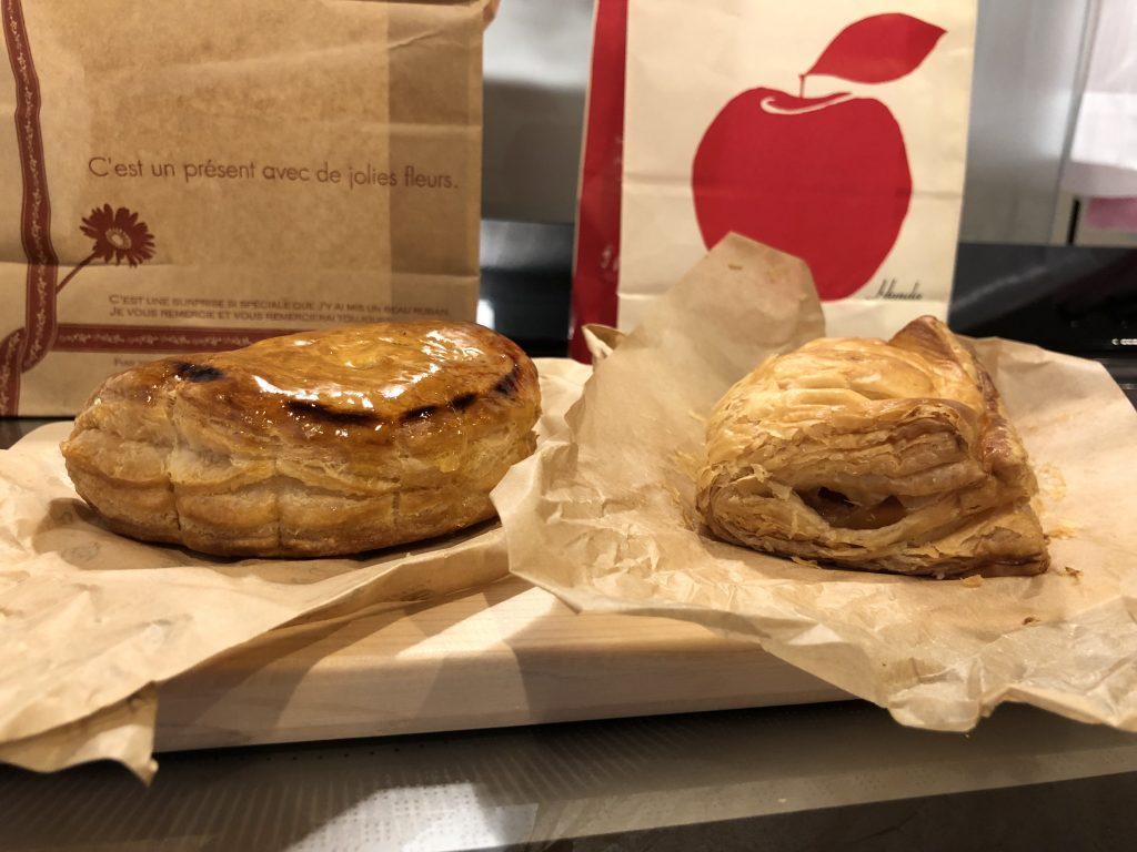 ナカヤとホンダのアップルパイ厚さの比較