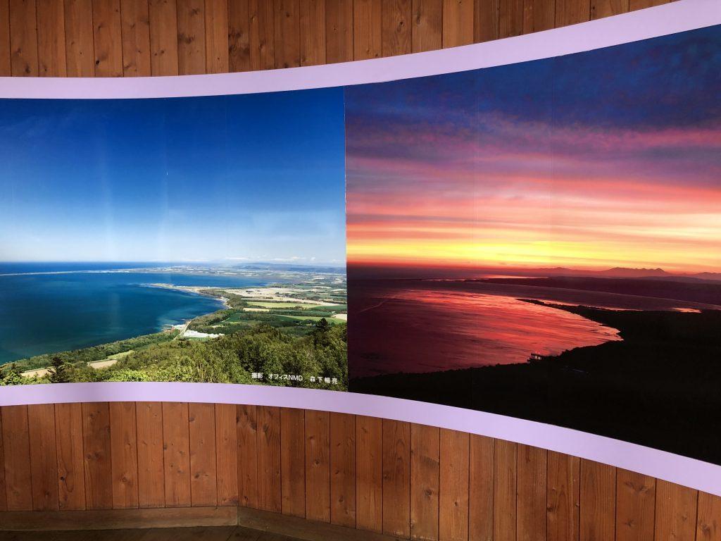サロマ湖展望台から撮った写真