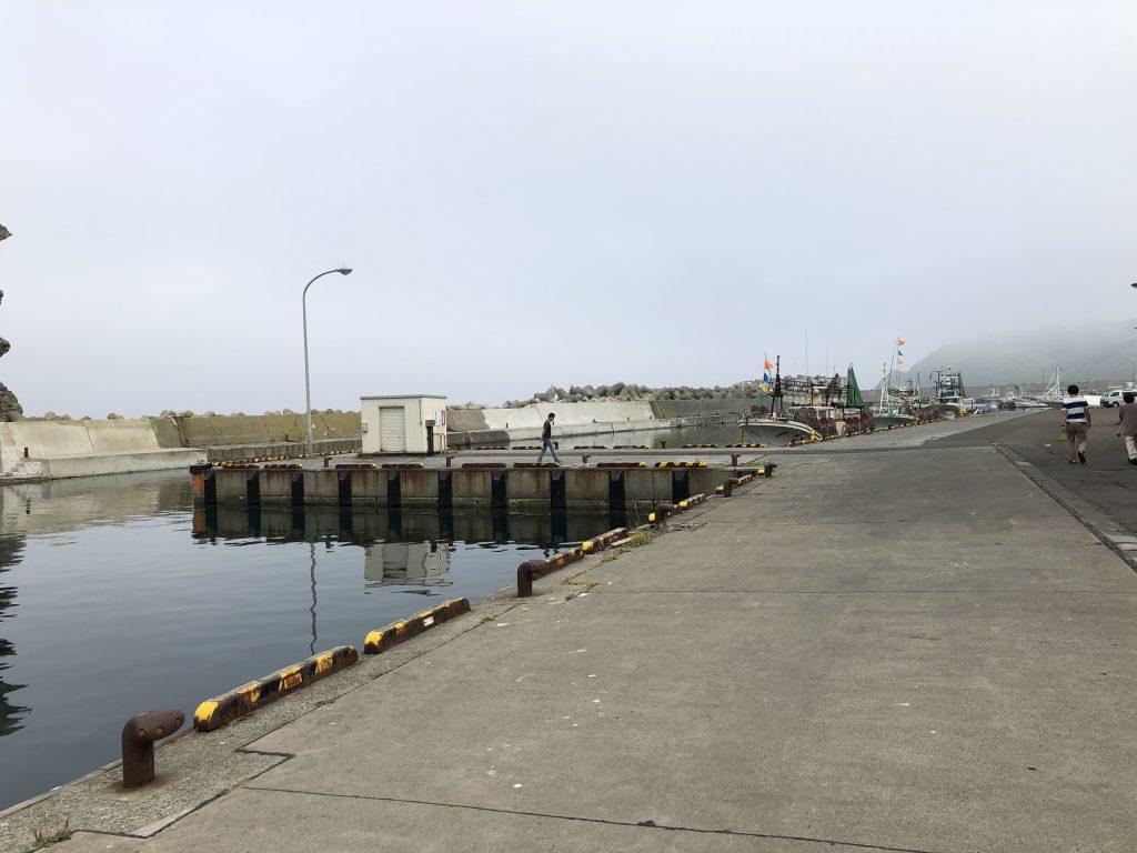 積丹の漁港