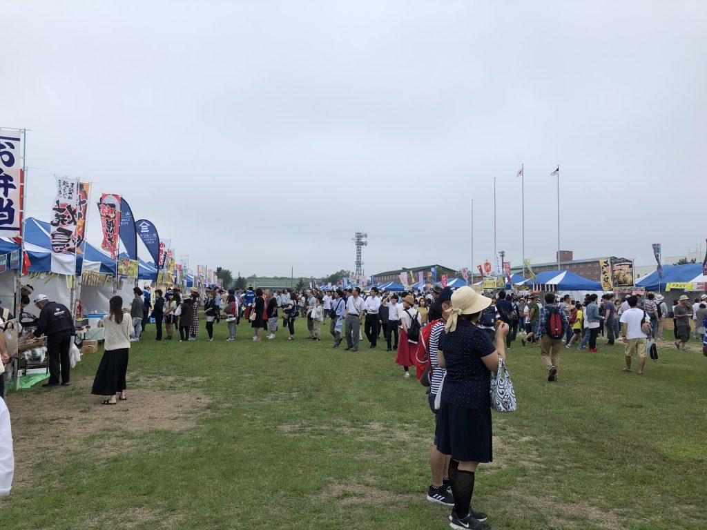 千歳航空祭の野外売店