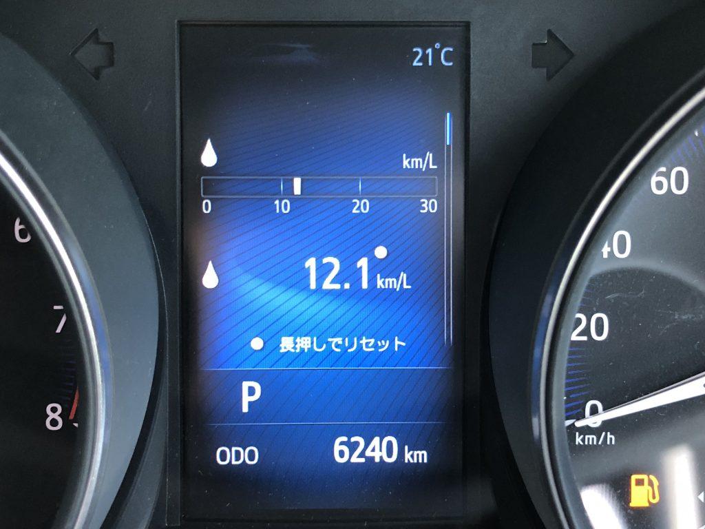CH-Rの燃費