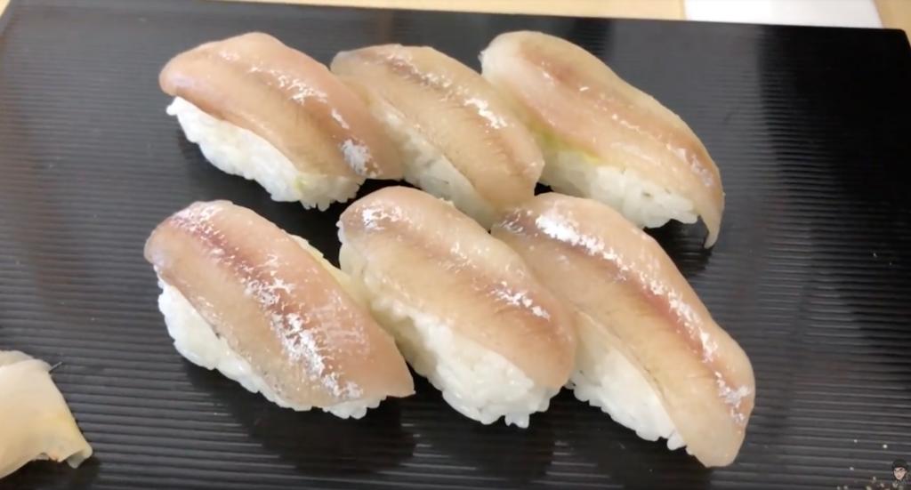 ししゃもの寿司