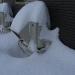北海道で雪の日室外機はどうなる?雪に埋もれるので除雪必須